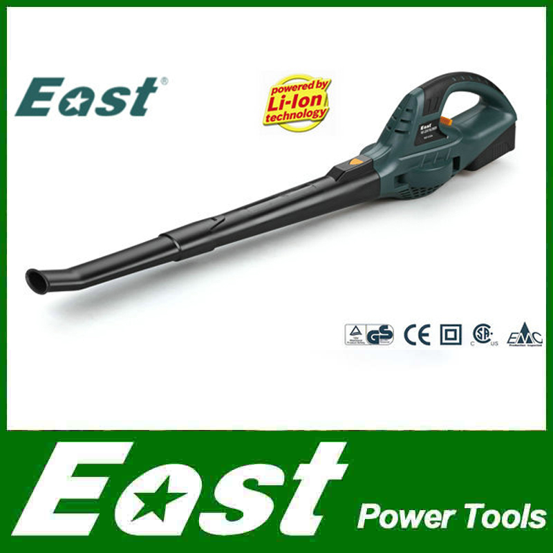 EAST Garden Power Tools 18V Li-ion Cordless Blower leaf blower rechargeable battery machinery tools factory selling ET1006(China (Mainland))