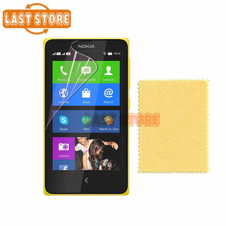 4pcs/lot Ultra Clear Screen Display Protective Film For Nokia X Screen Protector Guard Cover Film With Retail Package(China (Mainland))