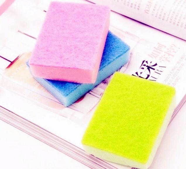 Free Shipping Universal Magic Nano Cotton Cleaning Sponge/Algae Spirogyra Wash Bowl Brush/Cleaning Brush/ Clean Sponge 30pcs(China (Mainland))