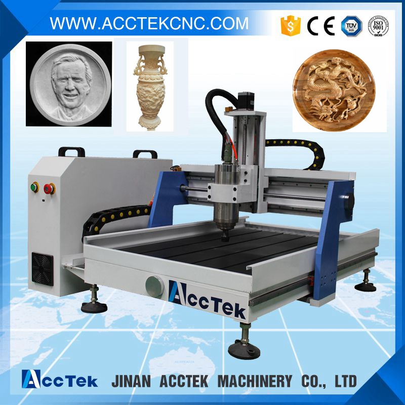 cnc milling machine for wood metal and stone 6090 price/ wood processing machine router(China (Mainland))