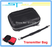 Fashion Waterproof Transmitter Bag Case For JR Futaba FlySky FS-T6 FS-TH9X Radio Controller RC drone quadcopter Free sh Toy kids