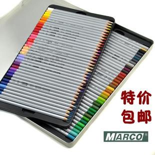 Marco 7100-72tn marco advanced professional oily colored pencil 72 tin