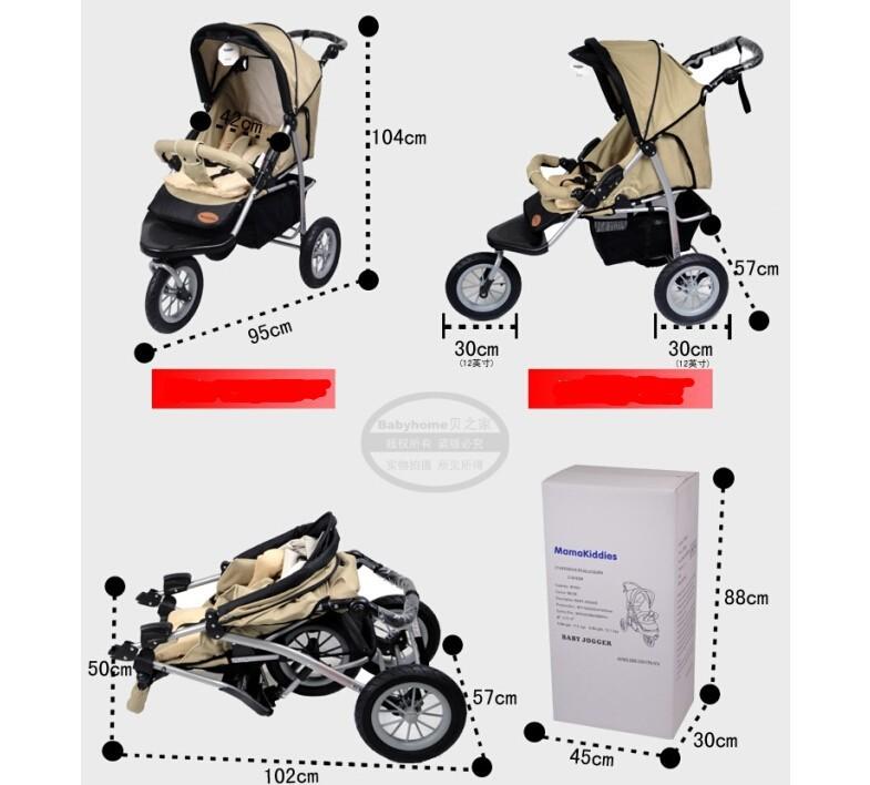 Детские коляски коляски корзина Зимние летние коляски три колеса трицикла