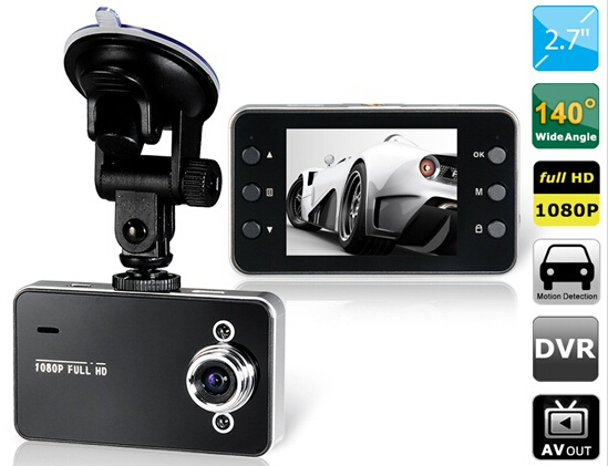 """2.7"""" LCD 120-degree Wide-angle Single Lens Vehicle DVR Camera Video Recorder with Motion Detection, Infrared Night Vision(China (Mainland))"""