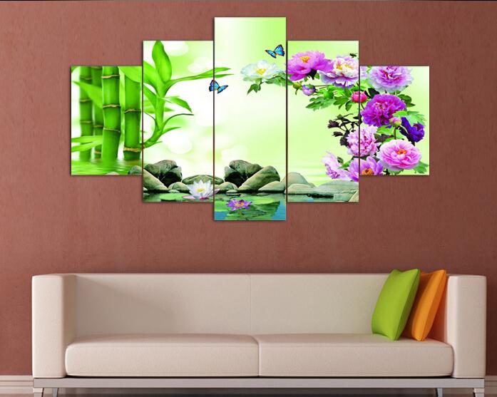 Как сделать картины на стену из нескольких частей фото