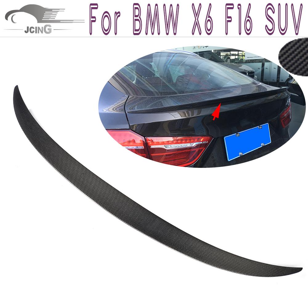 Bmw X6 Xdrive35i: X6 Carbon Fiber Rear Trunk Spoiler For BMW X6 F16