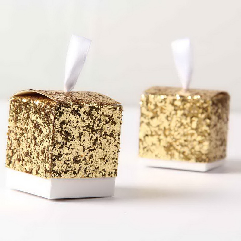 Gold Favor Boxes 4x4x4 : Buy wholesale gold favor boxes from china