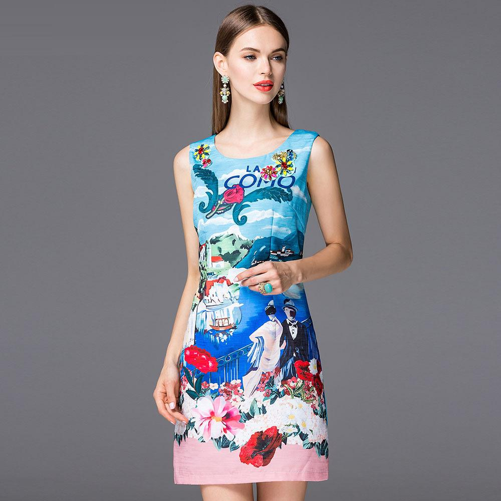 New Arrival 2016 Spring Summer Dress Ladies Polka Dot Print O-Neck Short Sleeve Cotton Pocket Blue Dress Basic Above Knee SexyОдежда и ак�е��уары<br><br><br>Aliexpress