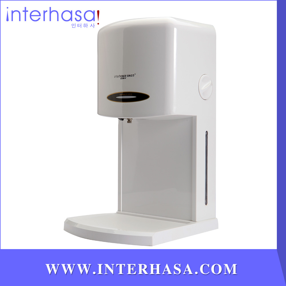 Wall-mounted Automatic sensor hand arm device spray alcohol sterilizer cleaner for public places(China (Mainland))