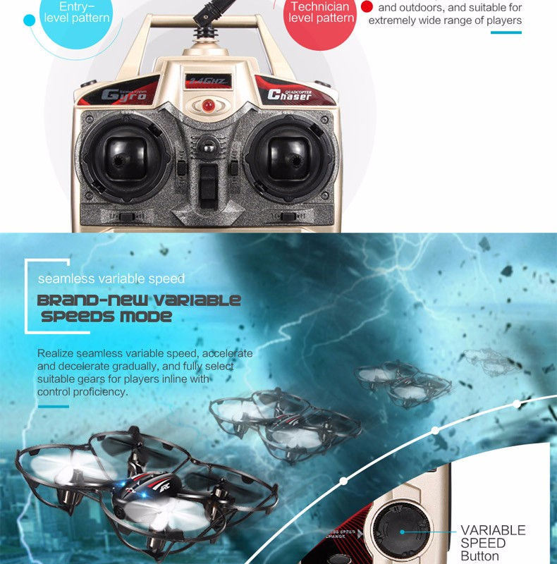 2016 FPV Mini Drones With Camera Hd Jjrc H6d Quadcopters With Camera Flying Helicopter Camera Professional Drones Rc Dron Copter