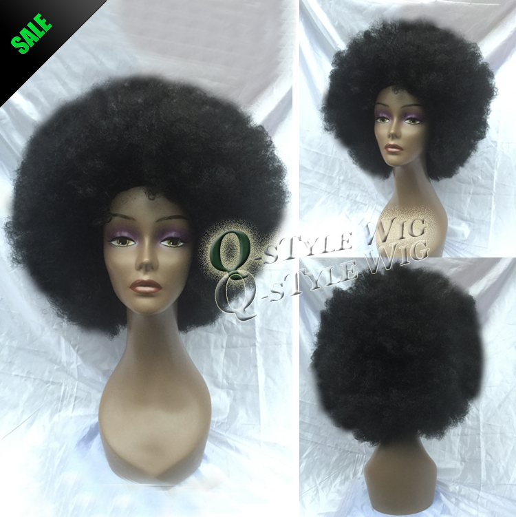 sphere Cut Synthetic African micro kinky curly wig Short afro fluffy Italian yaki hair bomb Shape black woman Perucas - Queen Style trade Co.,Ltd store