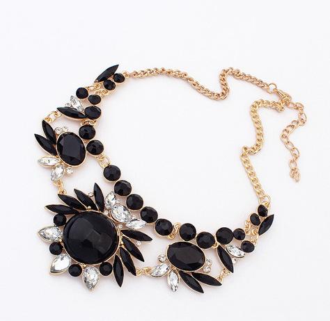 produto Celebrity Necklaces Fashion Jewelry Mixed Style Irregular Bubble Bib Statement Necklaces & pendants meus pedidos For Women