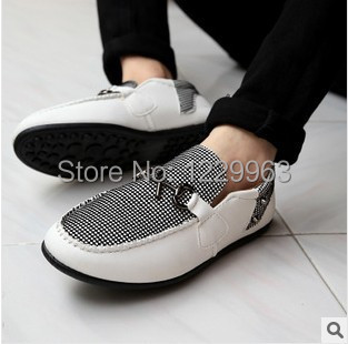 2014 new man han edition shoes leisure men's singles shoes UK driving fashion men's shoes 80029(China (Mainland))