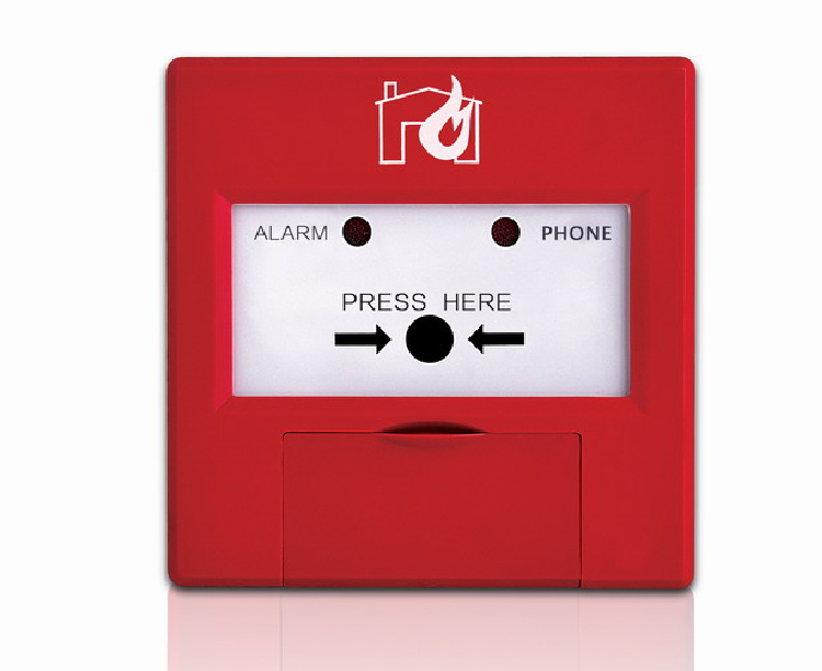 Addressable  Intelligent manual call point  for  fire alarm system