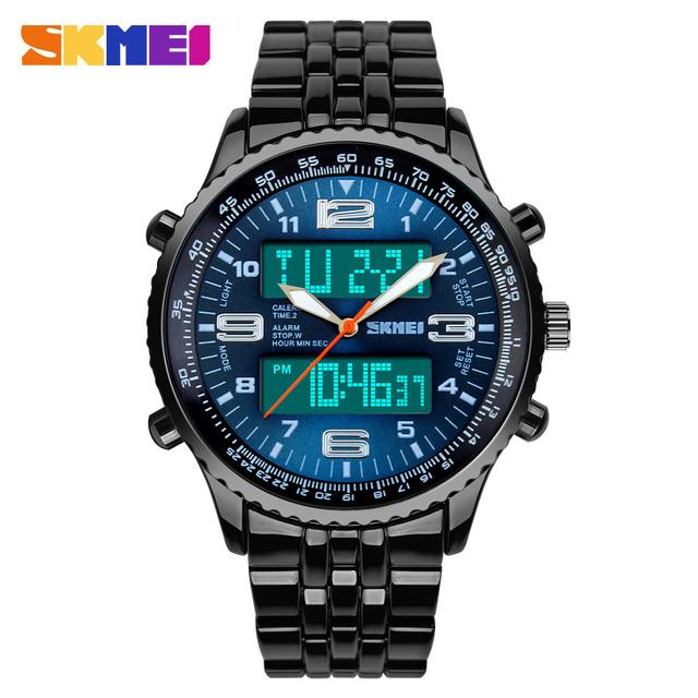 Zegarek męski SKMEI sportowy cyfrowo-analogowy wodoodporny