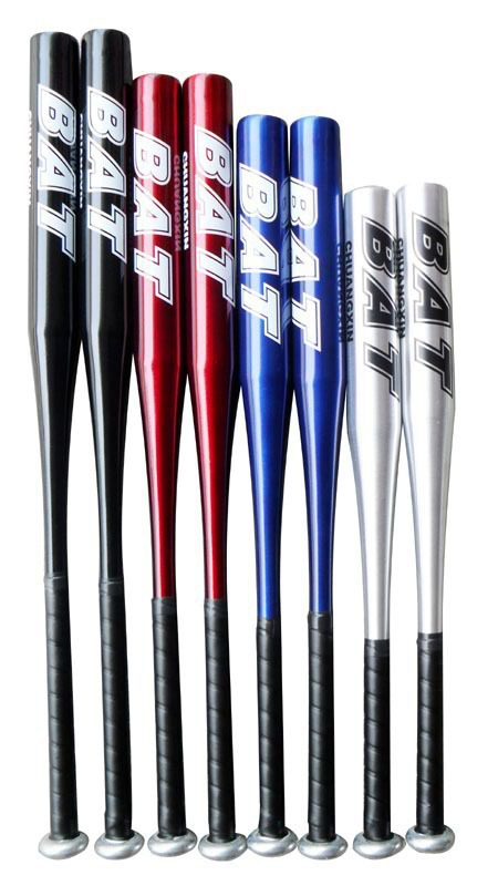 Free shipping 25inch(63cm) High Quality Aluminum Alloy Bat Baseball Bat(China (Mainland))