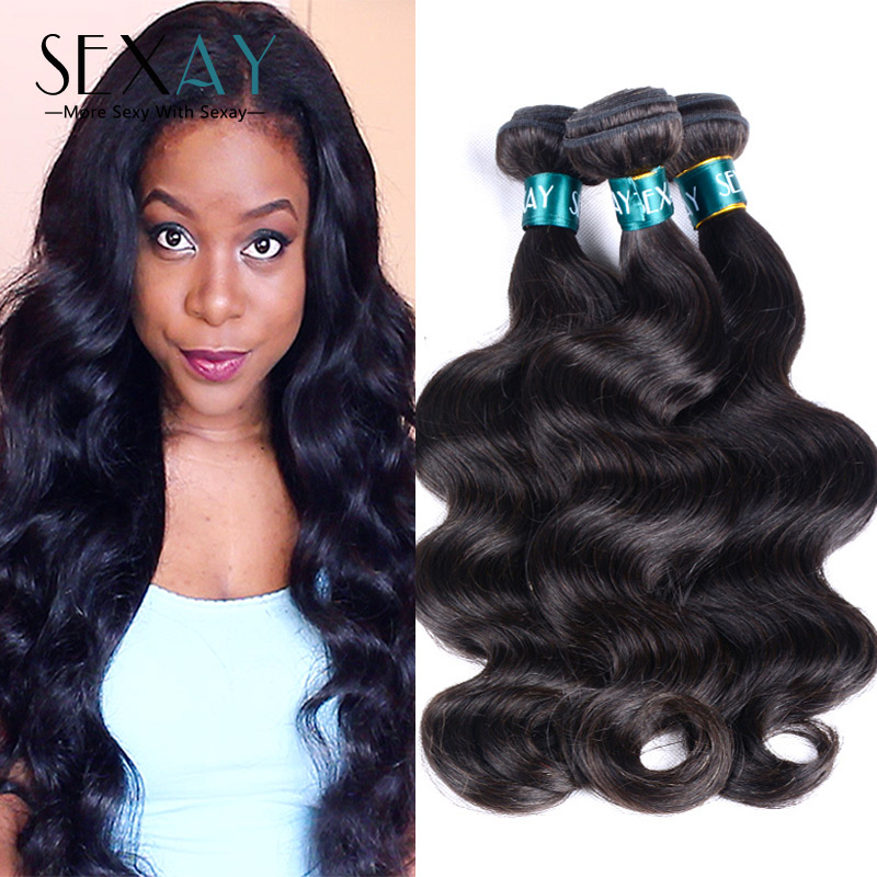 Brazilian Virgin Hair Body Wave 3 Bundles Brazilian Body Wave Remy Human Hair Extensions Virgin Brazilian Hair Weave Bundles