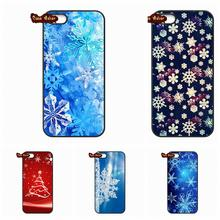 Huawei Ascend P6 P7 P8 P9 Lite Mate 8 Honor 3C 4C 5C 6 7 4X 5X G8 Plus new year snowflake Brand Newest Christmas Case Cover - The End Phone Cases store