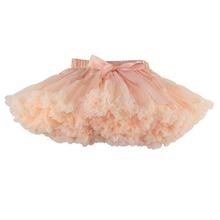 Free Shipping 2-18 Years Fluffy Chiffon Skirt Tutu Skirts Baby  Pettiskirts girls tutu skirt Princess Dance Party Tulle Skirt(China (Mainland))