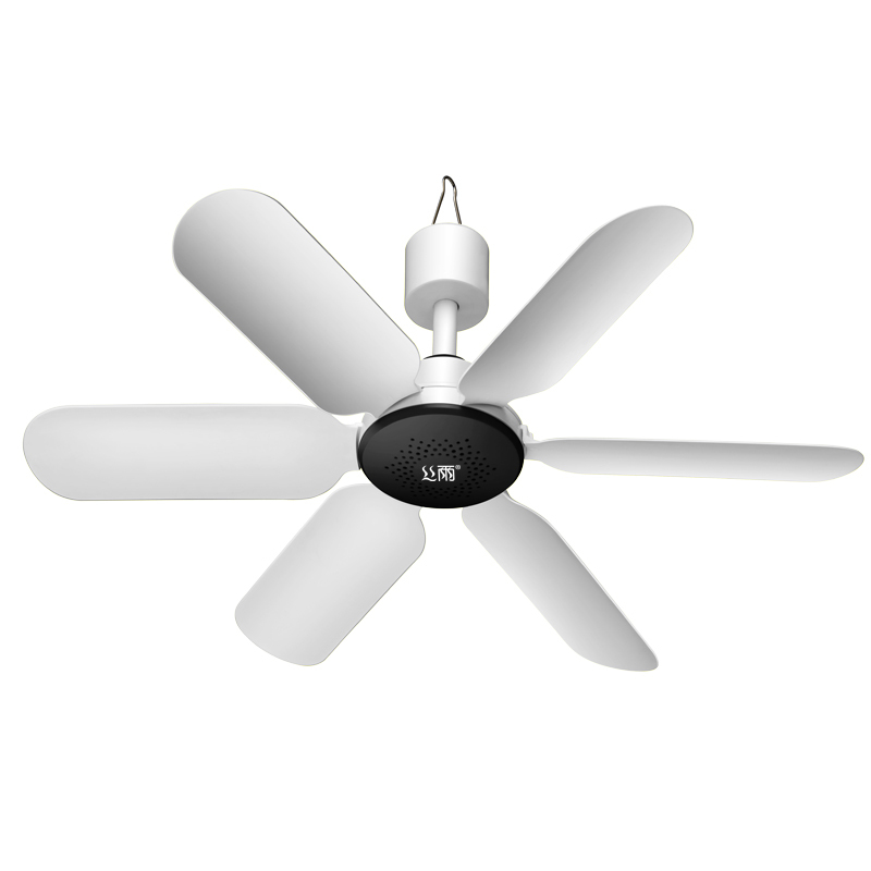 Simple Mosquito Net Ceiling Fan Small Ultra-quiet Energy-Saving Breeze Ceiling Fan Blue White Mini Ceiling Fan(China (Mainland))