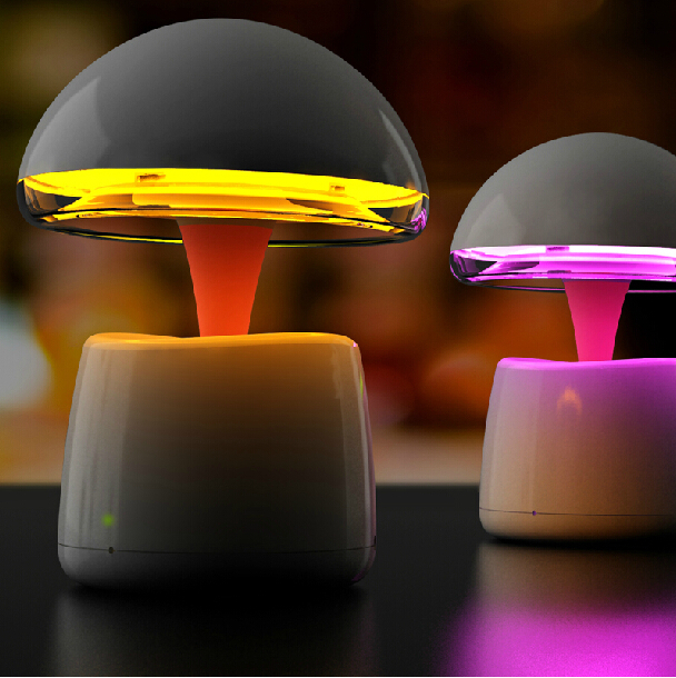 A LA Magic Lamp,Novelty Night Lamps,Alarm Clock,Creative Night Light with Speaker and FM