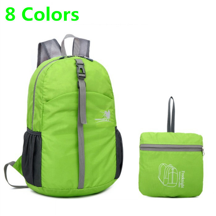 Large-capacity 30L folding waterproof outdoor travel men's women sport backpack Nylon camping mountaineering Hiking shoulder bag(China (Mainland))