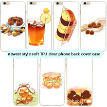 Hot Dessert Ice Cream Macarons Fresh Fruit Cake Silicon Back Cover Mobile Phone Cases For iphone 6 6s Plus Sweet Emboss Cover
