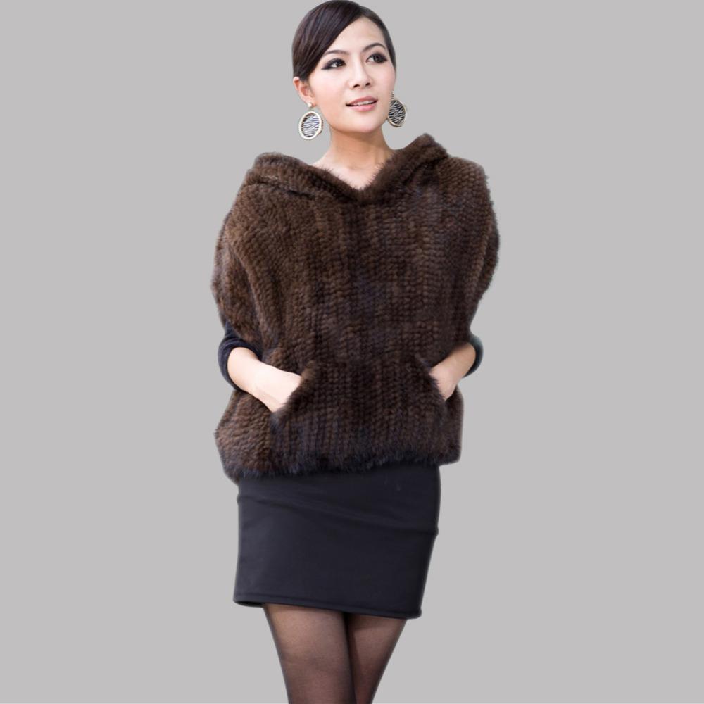 femmes vestes automne dames v ritable fourrure de vison. Black Bedroom Furniture Sets. Home Design Ideas