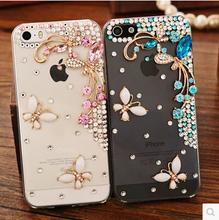 Buy Beautiful 3D flower Rhinestone Diamond Clear Crystal Butterfly Case sony Xperia Z1 Z2 Z3 Z1 mini Z3 compact L36H Phone Cover for $2.93 in AliExpress store