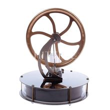 Funny Low Temperature Stirling Engine Motor Model Cool No Steam Education Toys Kit#58590(China (Mainland))