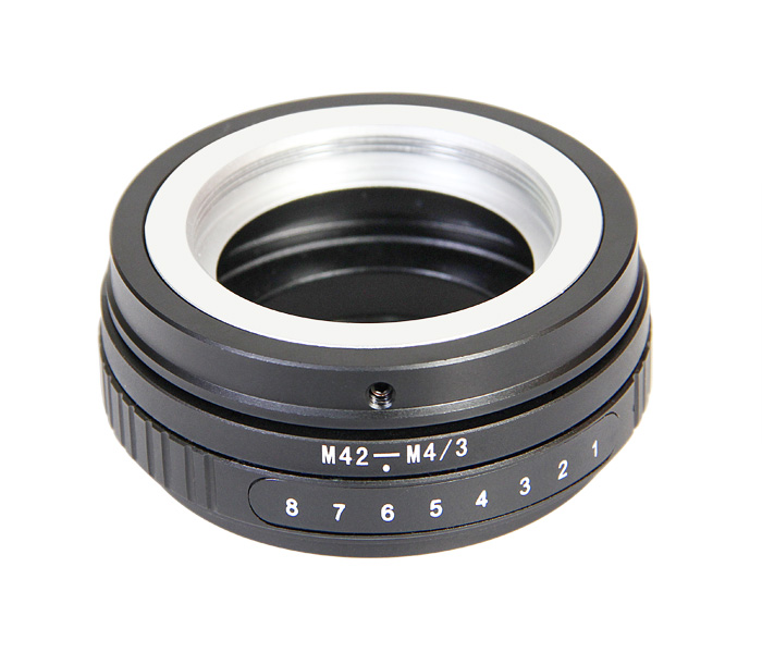 2pcs Tilt adapter M42-M4/3 M42 Lens to Micro Four Thirds m4/3 mount adapter ring for 0lympus Panas0nic<br><br>Aliexpress