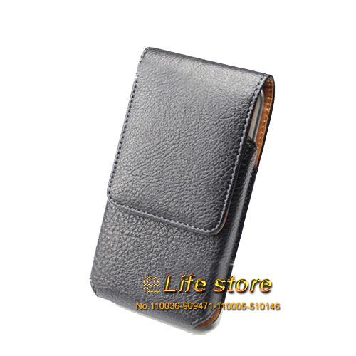 Universal Vertical Belt Clip Case Mobile Phone Leather Pouch ZTE Nubia Prague S,ZTE Blade V7 Lite,ZTE  -  Elife Kimi store