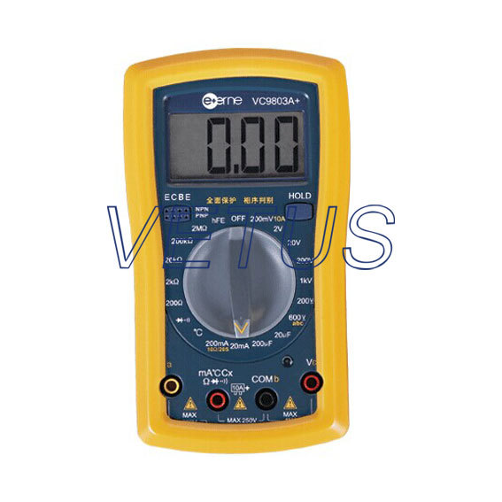 Free Shipping VC9803A+ Full Protection Digital Multimeter with Thermometer<br><br>Aliexpress