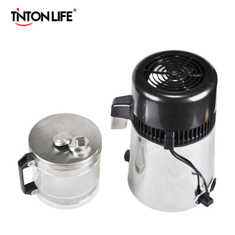 110V Household Stainless Steel Water Distiller machine Pure Water Distiller(China (Mainland))