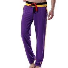 WJ brand mens Full Length long pants white sexy sports pants casual fashion gym yoga running Sweatpants Baggy Full Length Pants