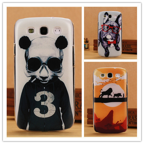 Luxury Hard Case For Samsung Galaxy S3 SIII I9300 Fashion Back Cover Painting Cases Wholesale PY(China (Mainland))