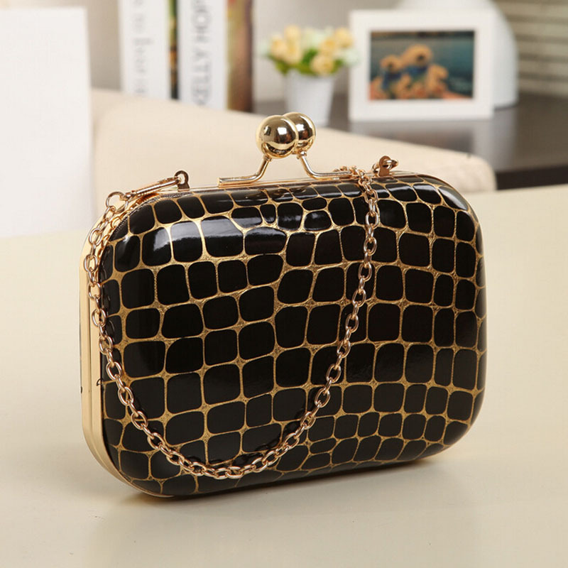 Women Colorful Evening Mini Bag New Arrival Women Clutch Handbags Black Golden Red 8 Colors Available<br><br>Aliexpress