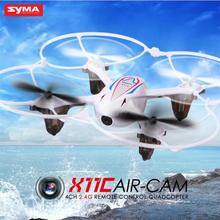 New 2016 SYMA X11C Air 2.4G 6 Axis Gyro RC Quadcopter Mini Drone With 2MP HD Video Camera Helicopter RC Toy 360 Degree Roll