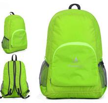 30PCS/lot Nylon Outdoor Sport Mochila Fashion Folding Bag