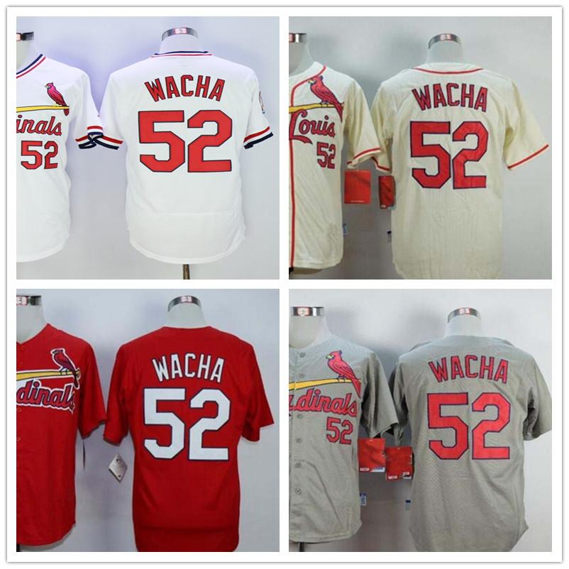 Wacha Jersey #52 Michael Wacha Jersey(China (Mainland))