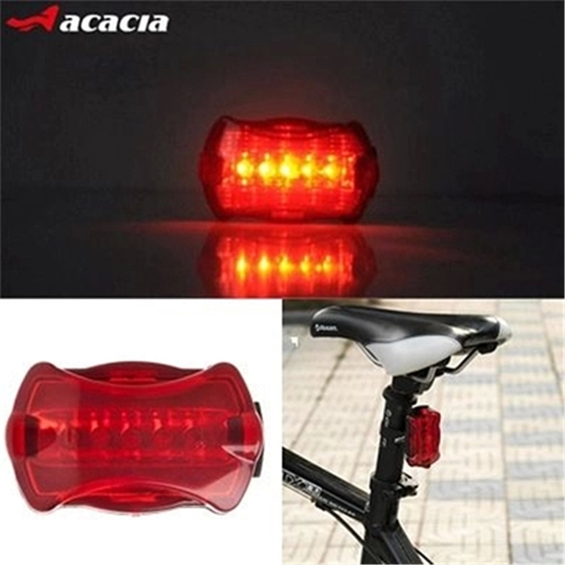 Bisiklet Bicycle Accessories Bicicletas 2015 New Waterproof Emerita 5 Led Road Lamp Mountain Bike Multicolour Warning - Bdien Store store