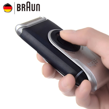 Braun Electric Shaver M60 Metallic silver Portable Washable Face Care Hair Mustache Razor Safety(China (Mainland))