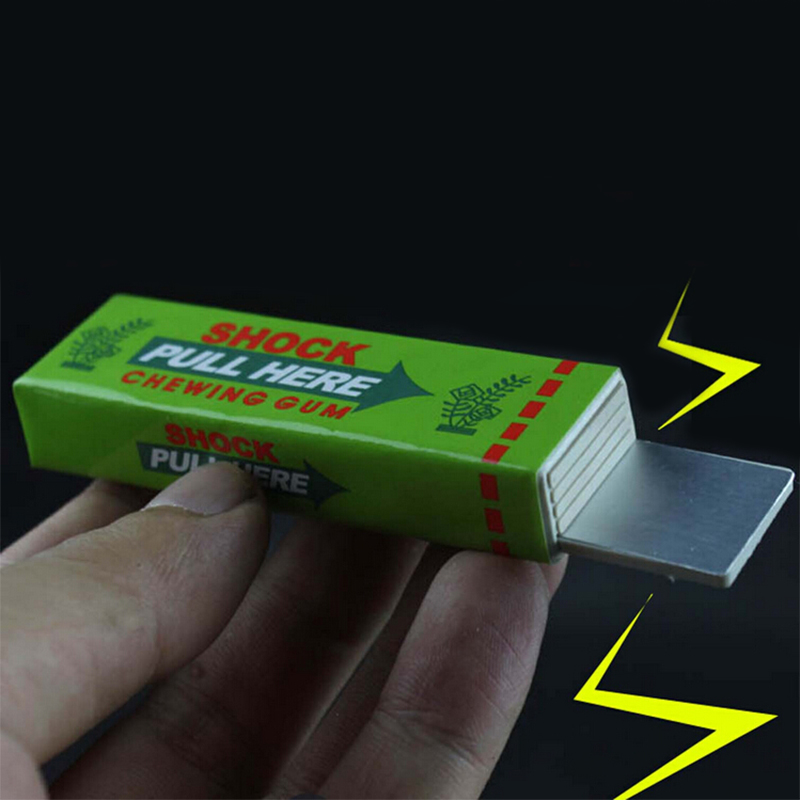 288Pcs Electrical Shocker Shocking Chewing Gum Funny Toy Safety Trick Joke Practical Fantastic For Fun Gag Gift Farce Blague(China (Mainland))