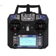 FAV Receiver RC Helicopter Quadrocopter T6 FLYSKY Mode 2 + FS i6 2.4G 6ch Transmitter 22