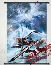 Home Decor Japan Wall poster Scroll Final Fantasy