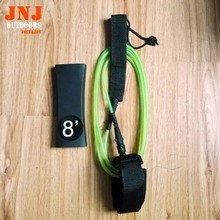 free shipping strongest TPU straight 8' 5.5mm surfing leash surfboard leash(China (Mainland))