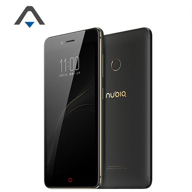 Оригинал ZTE Nubia Z11 Mini S LTE 4 Г Мобильный Телефон MSM8953 Octa Ядро 2.0 ГГц 5.2 ''Android 6.0 4 Г RAM 64 Г ROM 23.0MP отпечатков пальцев