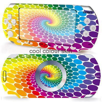 RAINBOW 029 Vinyl Skin Sticker Protector for Sony PSP 2000 skins Stickers for PSP2000(China (Mainland))