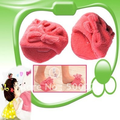 Free Shipping New Health Care No-slip Magic Half Slimming Slippers Lose Loss Lost Weight Shoes Slipper Shaper Pads