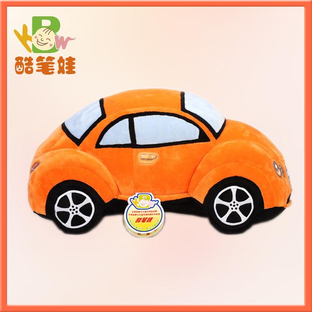 Plush car toy realistic soft toy car stuffed plush toy for boys